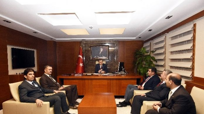 TÜMSİAD'dan Vali Ali Yerlikaya'a Ziyaret