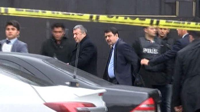 İstanbul Valisi olay yerinde incelemelerde bulundu