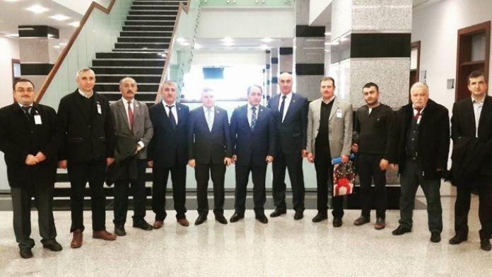 AK Parti İlçe Teşkilatından Milletvekillerine Ziyaret
