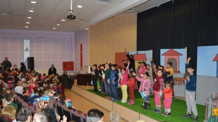 'Bekçi Karagöz' Kartepeli Çocuklarla Buluştu