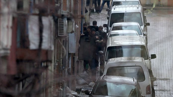 GÜNCELLEME 4 - İstanbul'da Çevik Kuvvet Şube Müdürlüğü'ne s