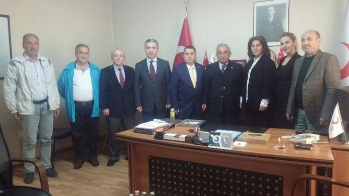 AK Parti Meclis Üyelerinden Kızılay'a Ziyaret