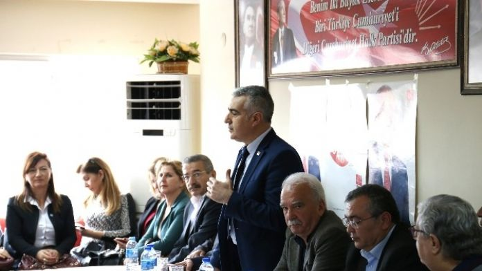 Bayram İnci, Nazilli CHP'yi Ziyaret Etti