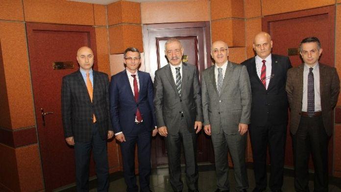 Muhasebecilerden Trabzon Ticaret Borsası'na Ziyaret
