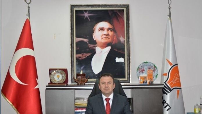 AK Parti İl Başkanı Erdener Can, İstifa Etti