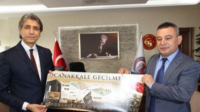 Fatih Belediye Başkanı Mustafa Demir ÇOMÜ'de