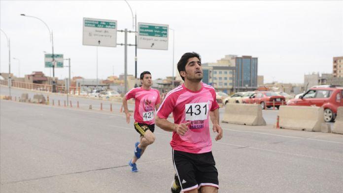 Erbil'de maraton