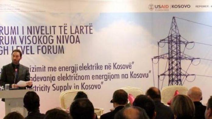'Kosova ekonomisinin kalkınması için enerji güvenliği ön şart'