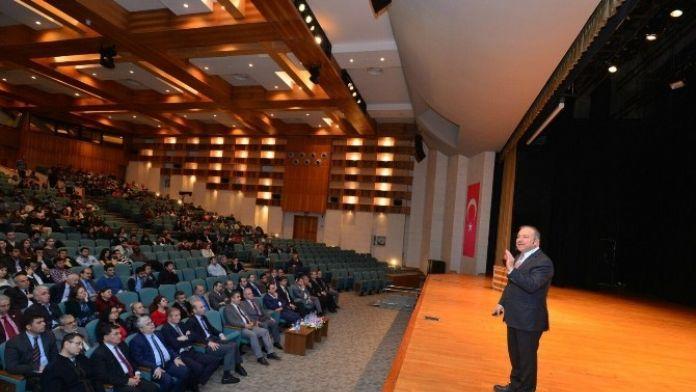 Prof. Dr. Şimşek'ten 'Sanayileşme Maceramız Ve Nuri Demirağ' Konferansı