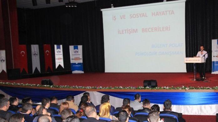 Elazığ'da Özel Güvenlik Görevlilerine Eğitim