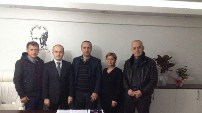Kgd, BİK Müdürü Ali Nuhoğlu'nu Ziyaret Etti