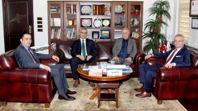 Vergi Müfettişlerinden Vali Özcan'a Ziyaret