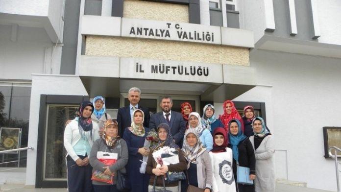 Antalya İl Müftüsü Osman Artan'a 'Sessiz' Ziyaret