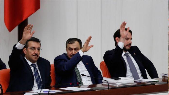 3 bakanlığın daha bütçesi kabul edildi