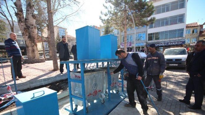 Beyşehir'de Çöp Konteyneri Uygulaması Yaygınlaşıyor