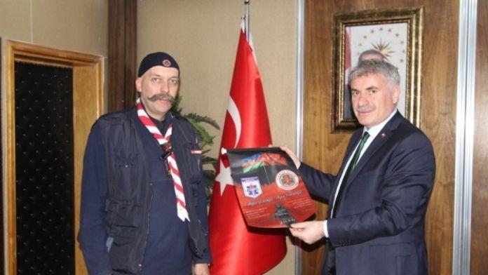 Türkiye İzcilik Federasyonu'ndan Başkan Memiş'e Ziyaret