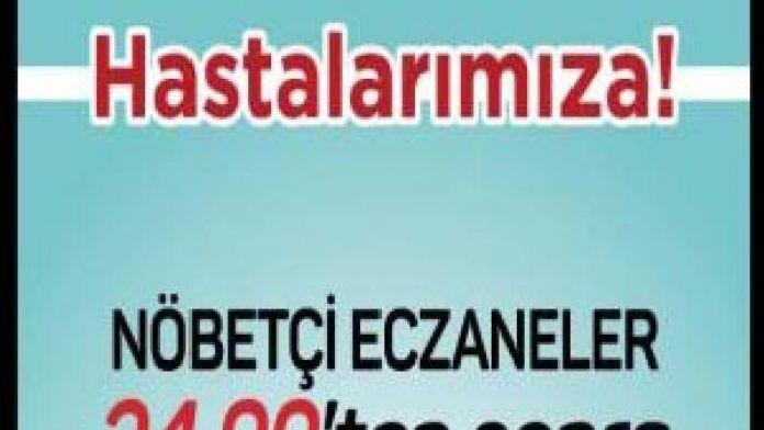 İstanbul Eczacı Odası: Nöbetçi eczaneler saat 00.00'dan sonra kepenk arkasından hizmet verecek
