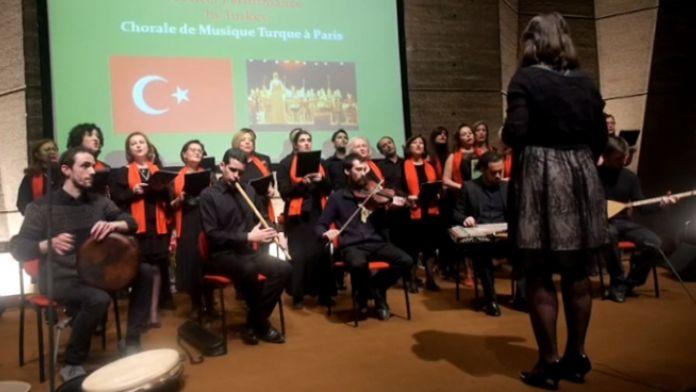 UNESCO merkezinde Türkçe şarkılar seslendirildi