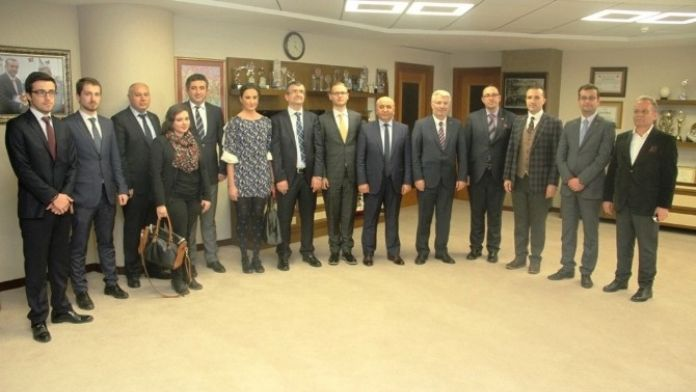 Malta Başkonsolosu, Büyükşehir'i Ziyaret Etti