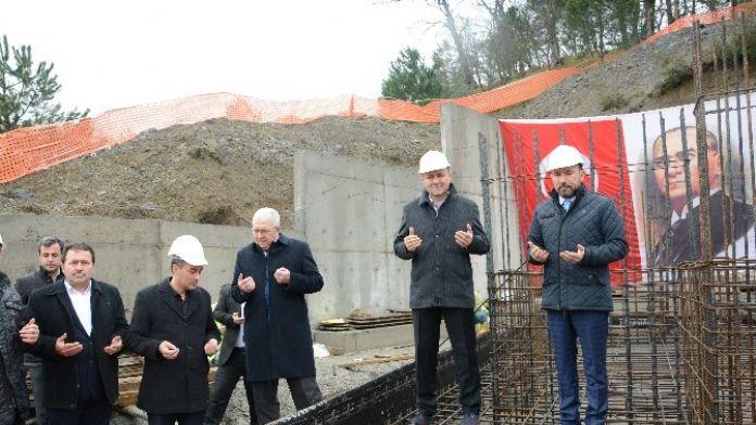 Hakkaniye Köy Konağının Temeli Atıldı