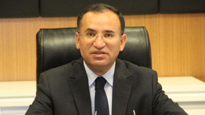 Adalet Bakanı Bozdağ'dan 'fezleke' değerlendirmesi