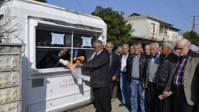 Kozan Gaziköy'e Ekmek Büfesi
