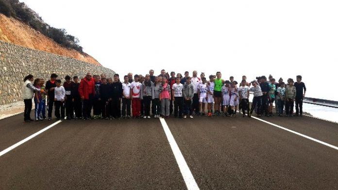 Karaman'da Atletler Atletizmi Geliştirme Projesi İçin Koştu