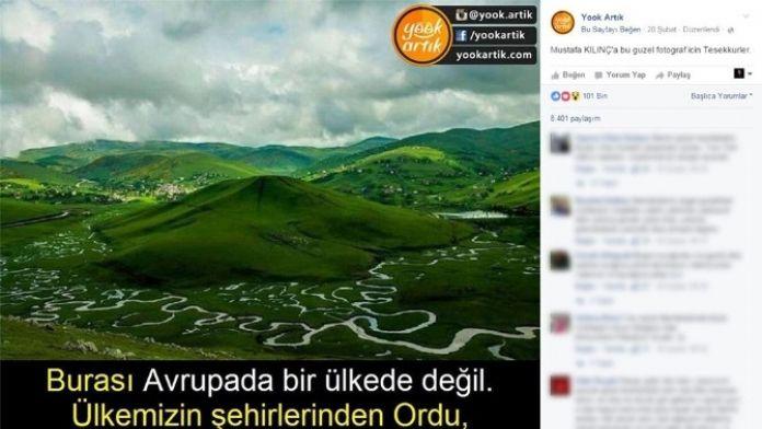 Aybastı Yayla Fotoğrafı Rekora Koşuyor
