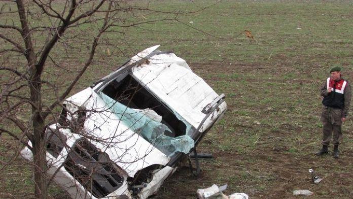 Sandıklı'da Trafik Kazası: 1 Yaralı