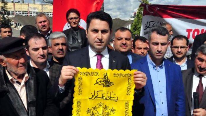 Tokat'tan güvenlik güçlerine moral desteği