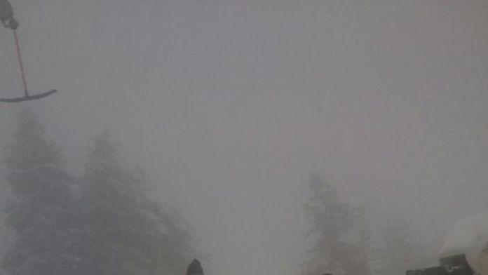 Uludağ'da kaybolan kayakçıyı JAK timi 10 dakika buldu