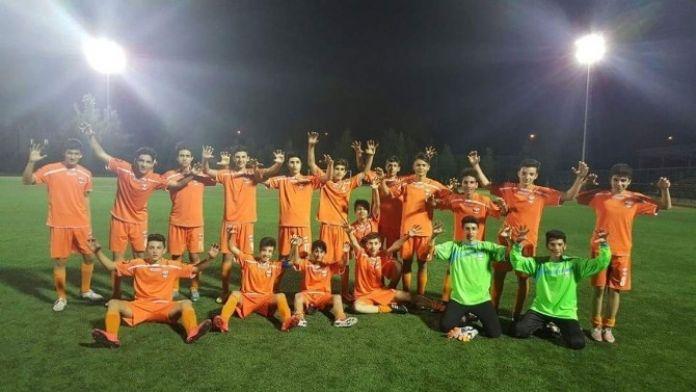 Adanaspor U15 Takımı Şampiyon Oldu