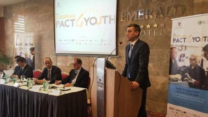 'Kosova Gençleri İçin Avrupa Paktı' toplantısı düzenlendi