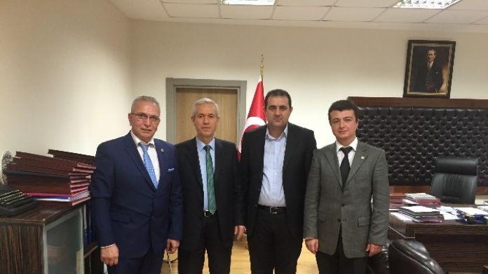 Büro Memur-sen'den Gümrük Ve Ticaret Bakanlığı'na Ziyaret