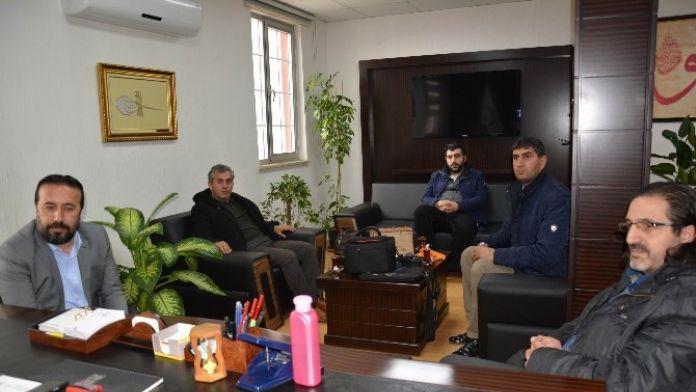 Vgc Yönetimi'nden Kamu Hastaneleri Birliği Genel Sekreteri Samur'a Ziyaret