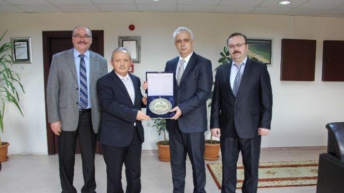 Kırklareli SMMMO'dan Kırklareli Üniversitesi'ne Ziyaret