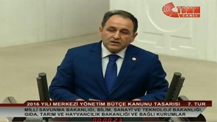 Murat Demir, Meclis Kürsüsünden Seslendi