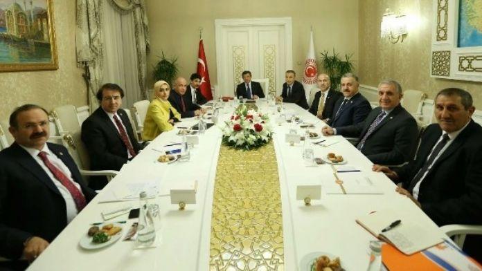 Milletvekili Gökçe Başbakan Davutoğlu İle Görüştü