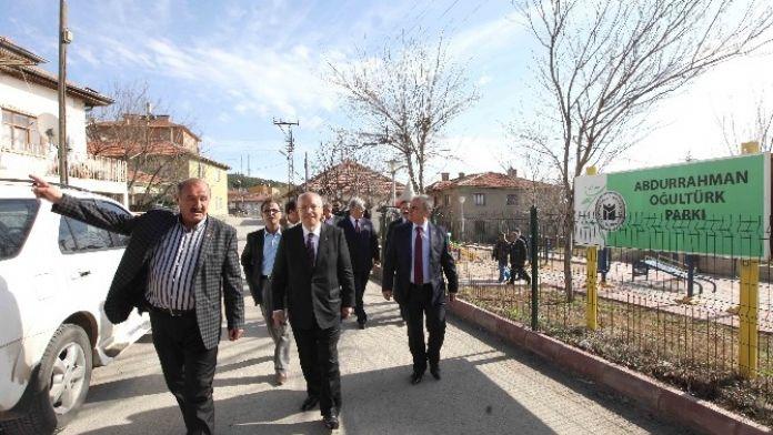 Yenimahalle Belediye Başkanı Fethi Yaşar Bala'yı Ziyaret Etti