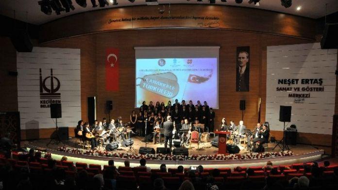 Keçiören Çanakkale Türküleri İle Zaferi Andı