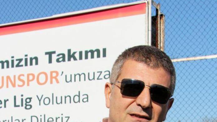 Samsunspor Sportif Direktörü Zeren: 'Yüzümüzün akıyla döneceğiz'