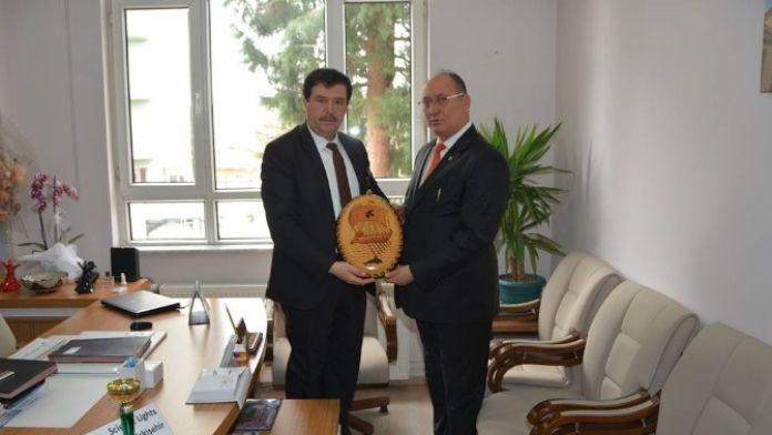 Eskişehir İl Milli Eğitim Müdürü Özen, İlçe Milli Eğitim Müdürü Avcı'yı Ziyaret Etti