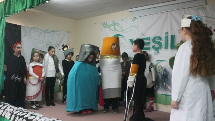 Köy Okulunda Etkili Yeşilay Performansı