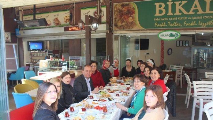 Başkan Işık, Kadınlarla Kahvaltıda Bir Araya Geldi