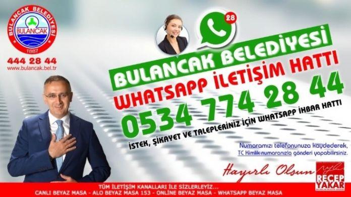 Bulancak Belediyesi Whatsapp İhbar Hattı