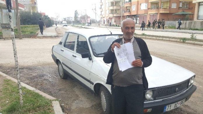 Polis 'G' İle 'C'yi Karıştırınca, Tır Cezası Kadirli'deki Toros'a Geldi