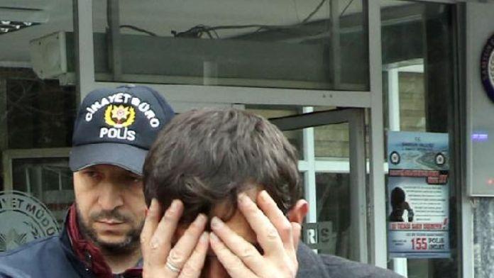 Polis otosunun camını kırıp polise saldırınca gözaltına alındı