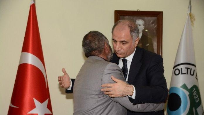 İçişleri Bakanı Efkan Ala, Şehit Babalarıyla Bir Araya Geldi
