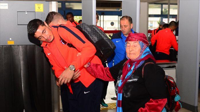 Trabzonspor kafilesi Konya'ya gitti