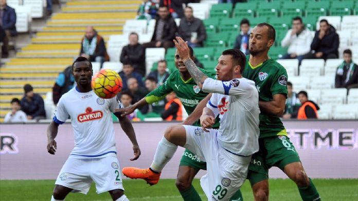 Bursaspor: 1 - Çaykur Rizespor: 0 (Maç sonucu)